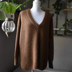 first rite · v-neck sweater